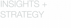 Insights & Strategy